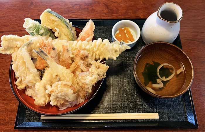 三日月庵 海鮮天丼