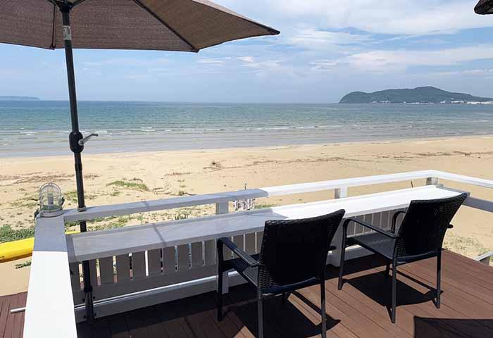 福間海岸 Cafe BEACH COMBER