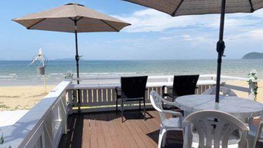【潜入】福間海岸のCafe BEACH COMBERは南国気分を味わえるテラス席が魅力!