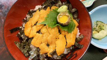 甘い?津屋崎にきたら食べてほしい花靖(はなしょう)のウニ丼