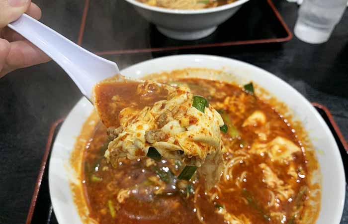 辛麺 桝元 香椎