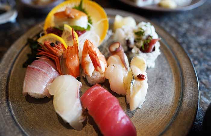だるま 寿司定食