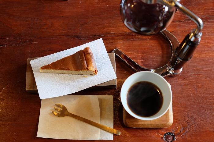 宗像 浮雲珈琲 チーズケーキ